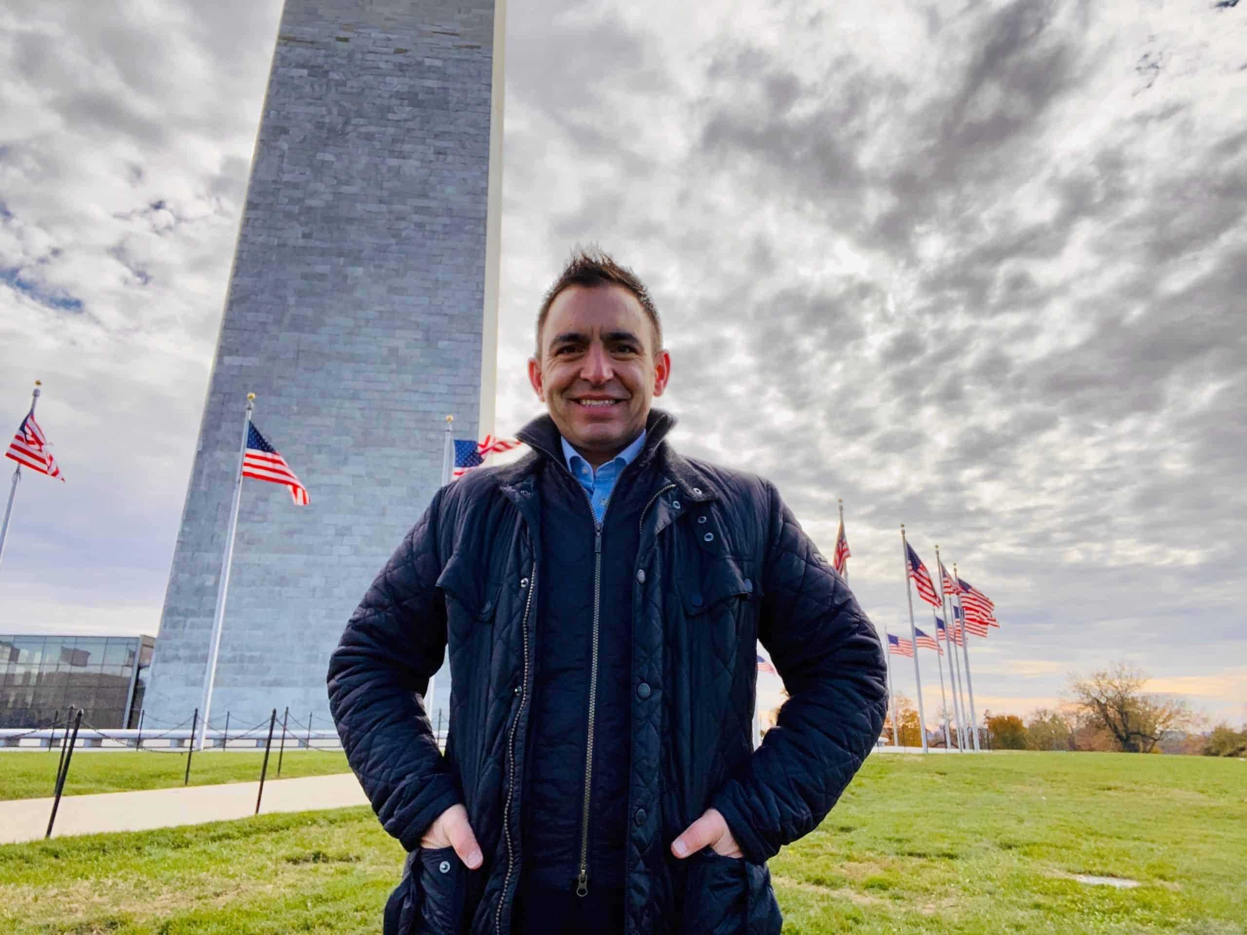 Steven Mifsud in US